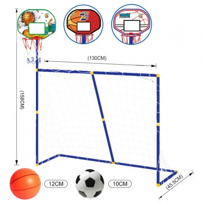 2 in 1 Basketball Shooting Training And Football Training