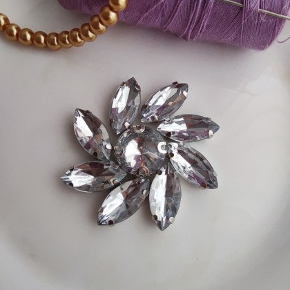 1 Set Chunky Bead CB001 Stone Crystal Diamond Rhinestone