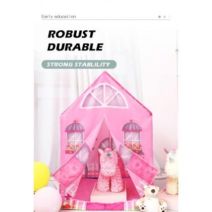 Pink Princess Castle Kids Tent