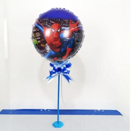 18 Inch Round Spiderman Balloon Super Hero Helium Balloon Birthday Party Decoration Kids Toy Theme Party Celebration