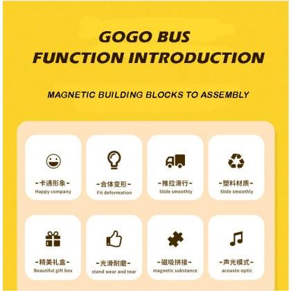 GoGo School Bus Gordon Toy Car