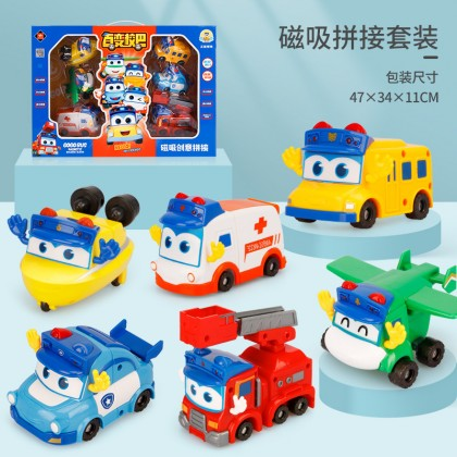 GoGo Bus Police Gordon Toy Car