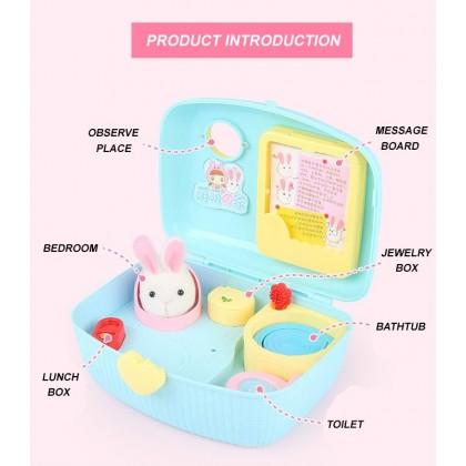 Kids Pet Rabbit Animal Toys