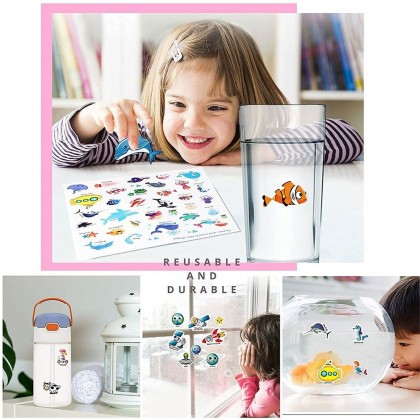 Insects Stickers Book Reusable Children Stickers Educational Learning Book